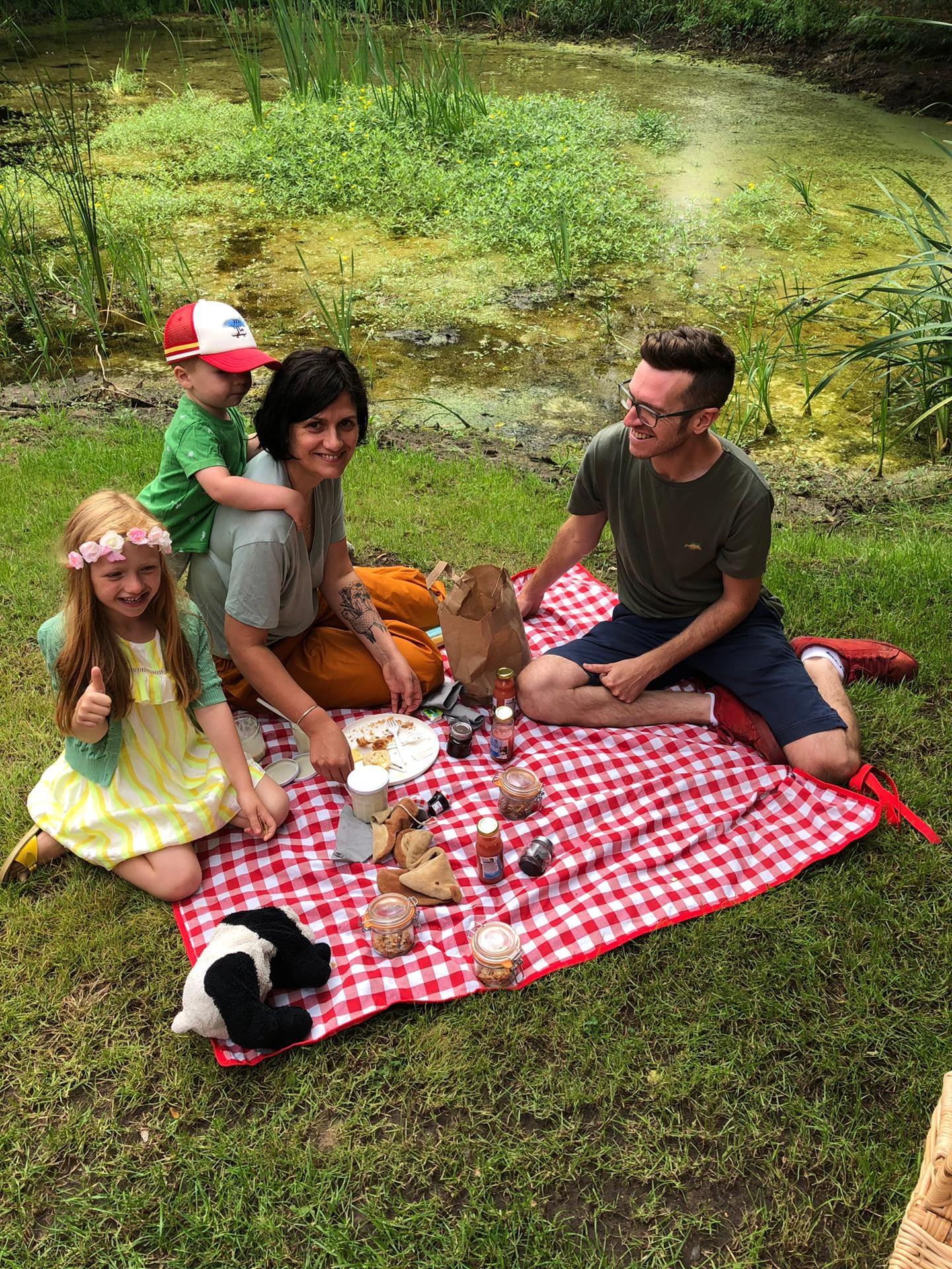 Eten & drinken Park Ven picknick vijver food natuur idyllisch Diepenbeek