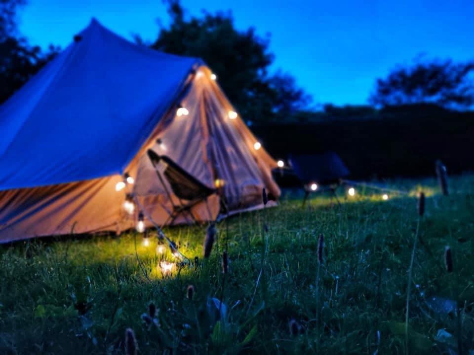Overnachten Park Ven Glamping tent Natuur idyllisch Diepenbeek